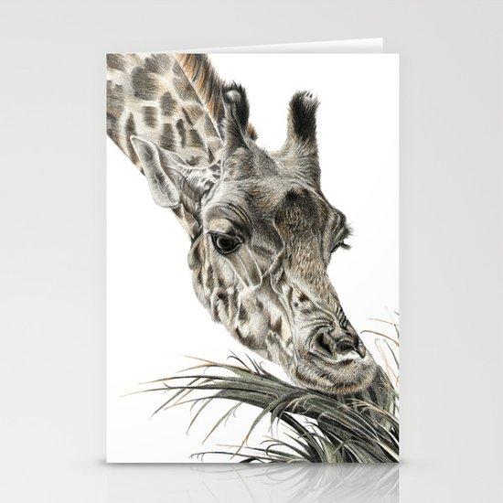 Giraffe - A Long Munch Stationery Cards