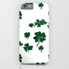 Luck of the Irish Four Leaf Clover Slim Case iPhone 6s