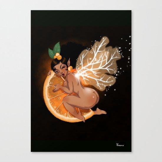 Fée Cointreau / Fairy Cointreau  Canvas Print