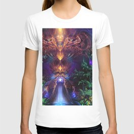 Ancient Infinite - Fractal Manipulation T-shirt