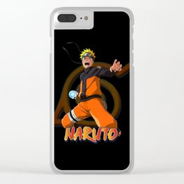 Naruto Uzmaki Rasengan Clear iPhone Case