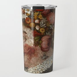 "Giuseppe Arcimboldo ""Four seasons - Spring"" Travel Mug"