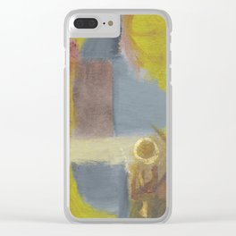 2017 Composition No. 32 Clear iPhone Case