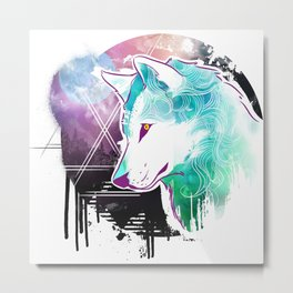 Wolf Aura Metal Print