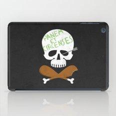 Panem et Circenses iPad Case