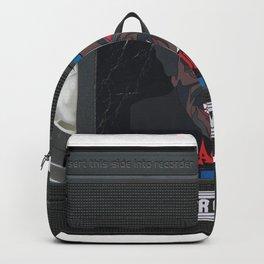 Blacula custom vhs tape art Backpack