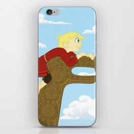 Young Coal and Rollo iPhone Skin