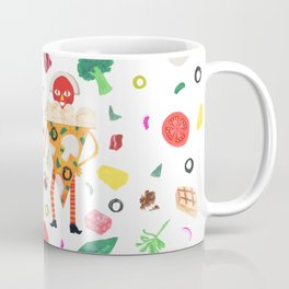 Pizza Folk Coffee Mug