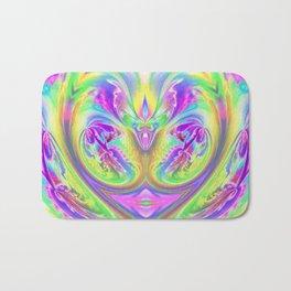 Psychedelic Alien Life Bath Mat