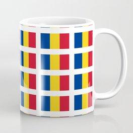 Flag of romania-romania,romanian,balkan,bucharest,danube,romani,romana,bucuresti Coffee Mug