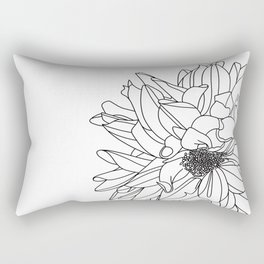 Dahlia 1 Rectangular Pillow