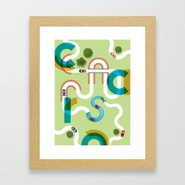 C A R S Framed Art Print