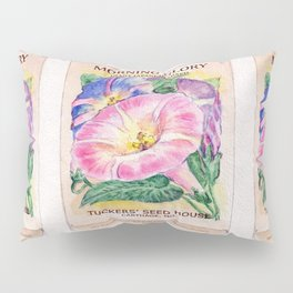 Morning Glory Seed Pack Pillow Sham
