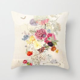 A remembrance of things past Throw Pillow