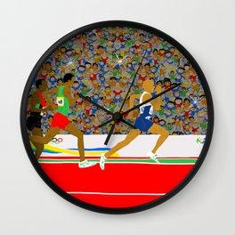 Running Wall Clock