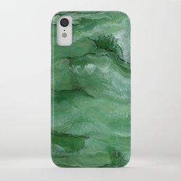 Jade - Original Art (encaustic painting) iPhone Case