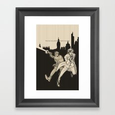 Heroes Framed Art Print