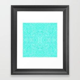 Radiate (Mint) Framed Art Print