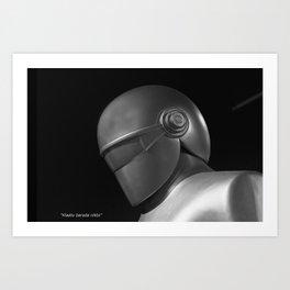 Klaatu 1 Art Print