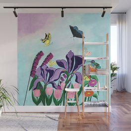 Garden of Heavenly Delight Wall Mural