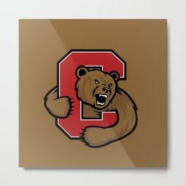 Cornell Big Red Logo Metal Print