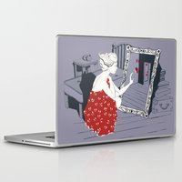 mirror Laptop & iPad Skins featuring mirror by liva cabule