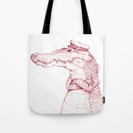 Sailor Gator  Tote Bag