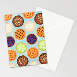 Sugar, Butter, Flour Stationery Cards