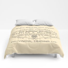 Economical Mourning and Funeral Warehouse Comforters