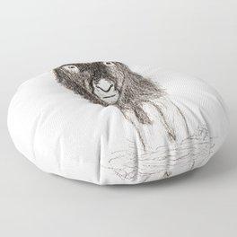 Baby Musk Ox Floor Pillow