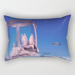 The Floating City- La ville flottante Rectangular Pillow