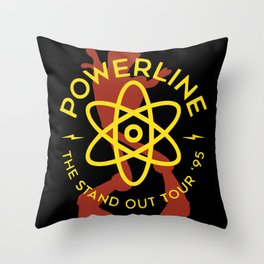 Powerline Throw Pillow