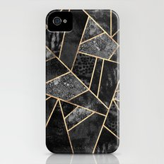Black Stone 2 Slim Case iPhone (4, 4s)