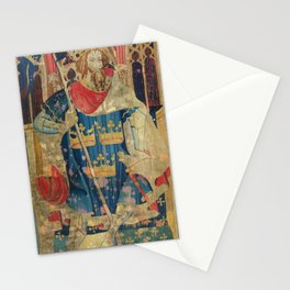 King Arthur Medieval Tapestry Stationery Cards
