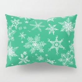 Snow Flakes 04 Pillow Sham