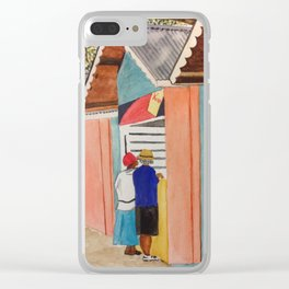 Carnival Stands Clear iPhone Case