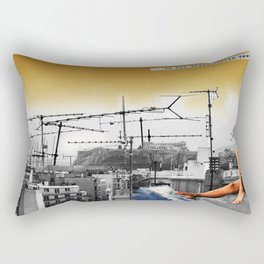 In her hips Rectangular Pillow