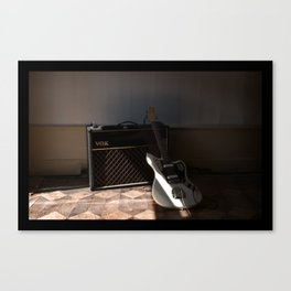 + Vox, Grenoble (fr) Canvas Print