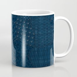 Sashiko - random sampler Coffee Mug