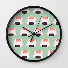 Cat Food - Sushi Wall Clock