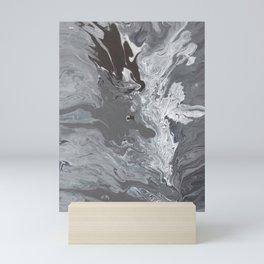 Flowing Through The Cracks Mini Art Print