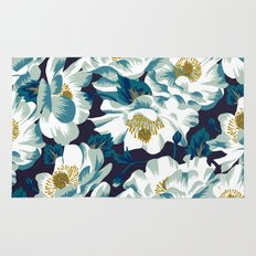 Mount Cook Lily (Night) Rug
