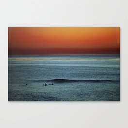 The Last Wave Canvas Print