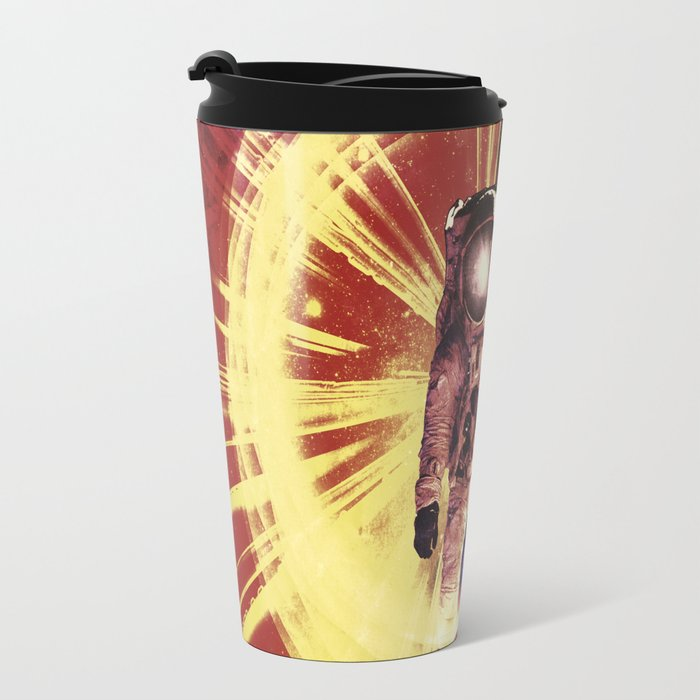 Too Much Space Out There. Travel Mug