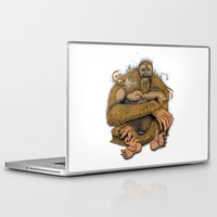 sasquatch Laptop & iPad Skins featuring Sasquatch by Gregery Miller
