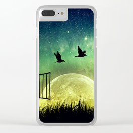be free Clear iPhone Case