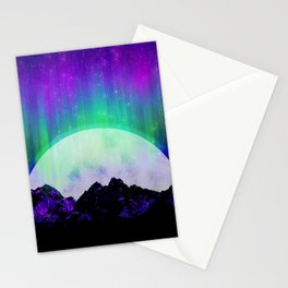 Under the Northern Lights Stationery Cards