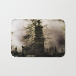 Old Cemetery Gate Bath Mat