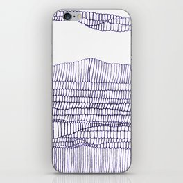 Going in Circles. iPhone Skin