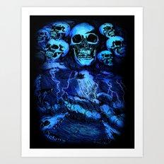SKULLSTORM Art Print